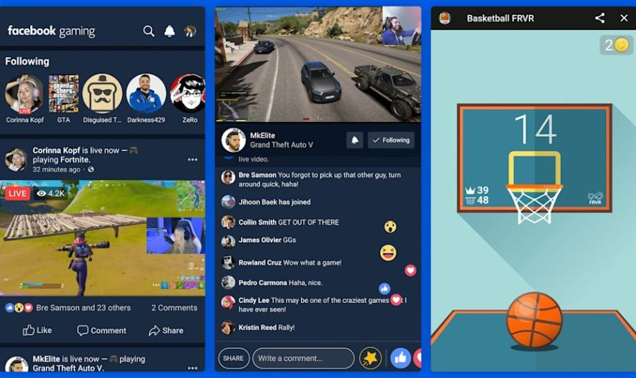 Facebook Releases New Mobile Gaming App to Challenge Twitch and YouTube