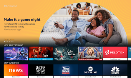 Free Amazon At Home Content Added to Fire TV and Fire Tablet Devices