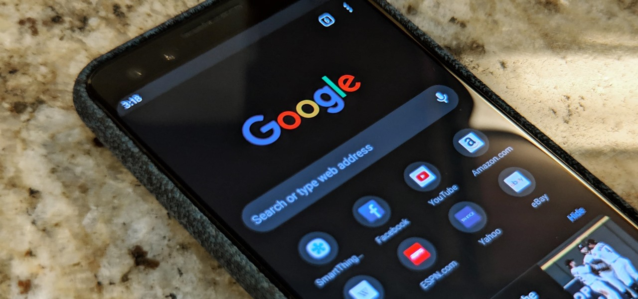 Android Chrome Google Search Dark Mode Code Spotted