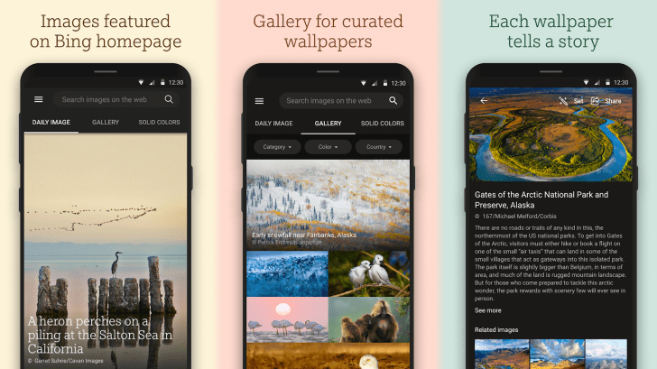 Bing Releasing its Own Wallpapers App with Daily Background Updates