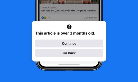Facebook will Alert Users to Out of Date News Stories before Sharing Them