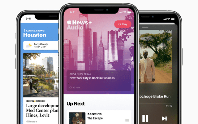 Apple News brings audio stories and a daily podcast