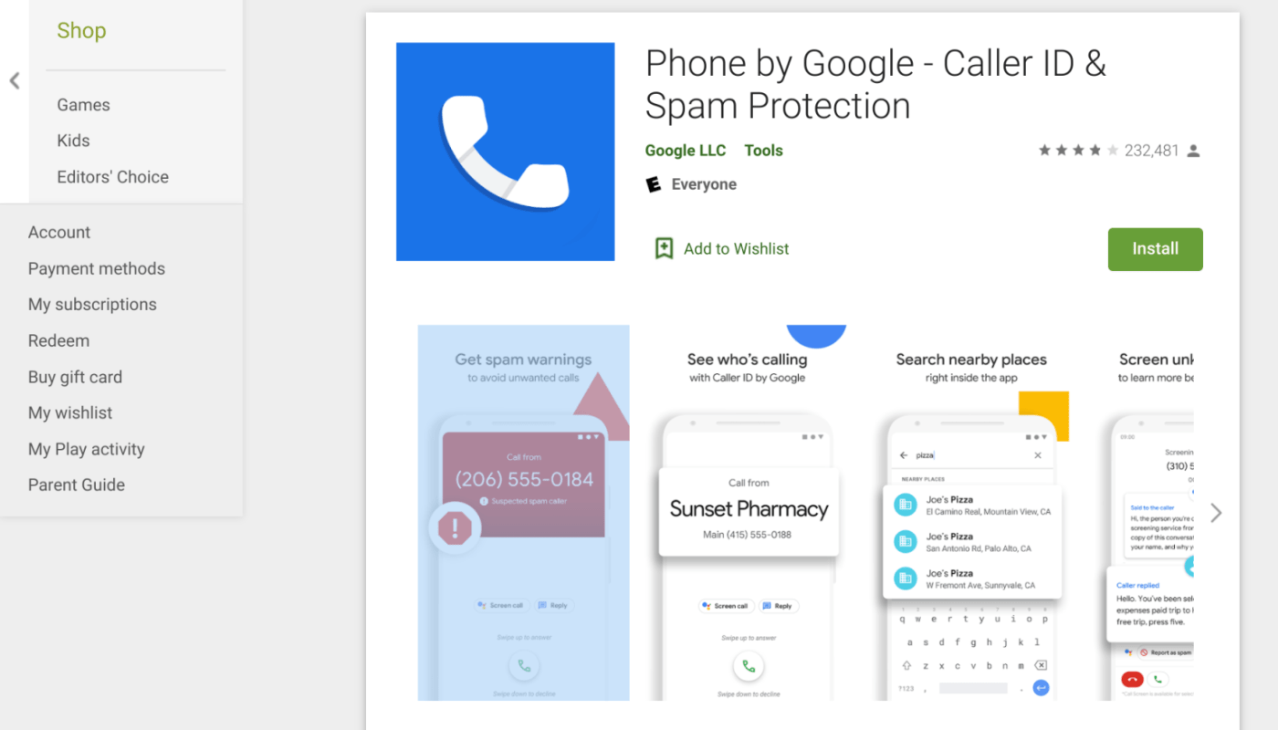 Google Renames its Phone App to Phone by Google