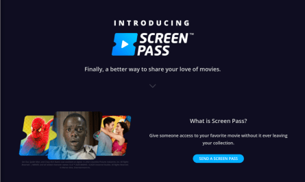 Movies Anywhere Screen Pass, a title sharing option, debuts