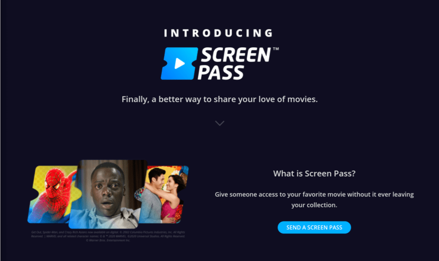 Movies Anywhere Now Lets its Users Share Up to 3 Titles Per Month with Family and Friends