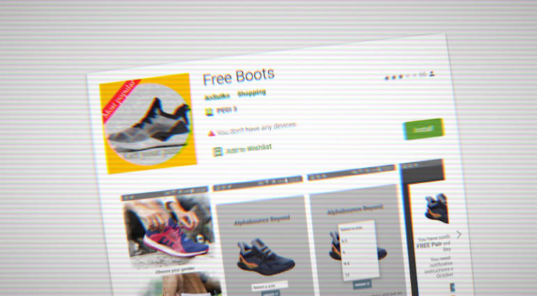 Google Removed Apps Promising Free Shoes but Committed Ad Fraud Instead