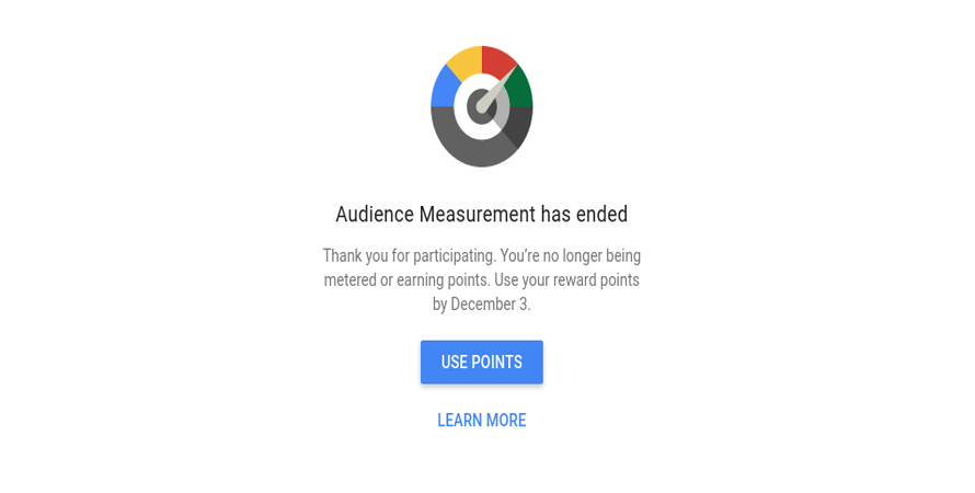 Google Unceremoniously Cancels its Audience Measurement Program, so Cash Out Now