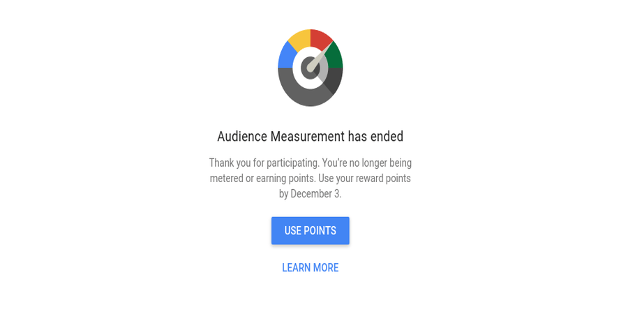 Google shuts down its Audience Measurement program