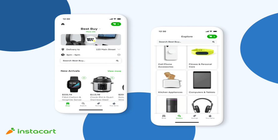 Best Buy Now Offers Same Day Delivery through Instacart