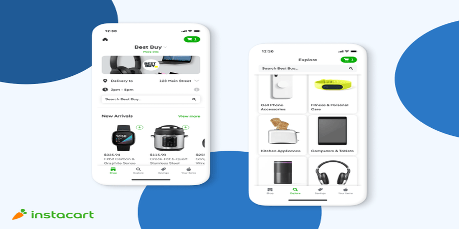 Instacart Teams Up with Best Buy to Offer Same Day Delivery