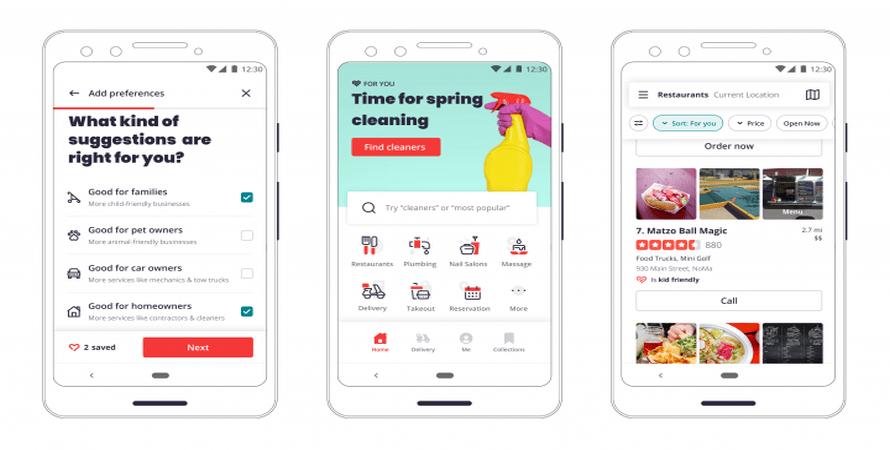 Yelp Redesigns its Mobile App Yet Again and this Time, it Really Puts User Preferences Front and Center