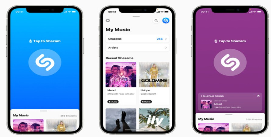 Shazam on the Web Now Recognizes Songs, as Its iOS Mobile App Receives a New Design