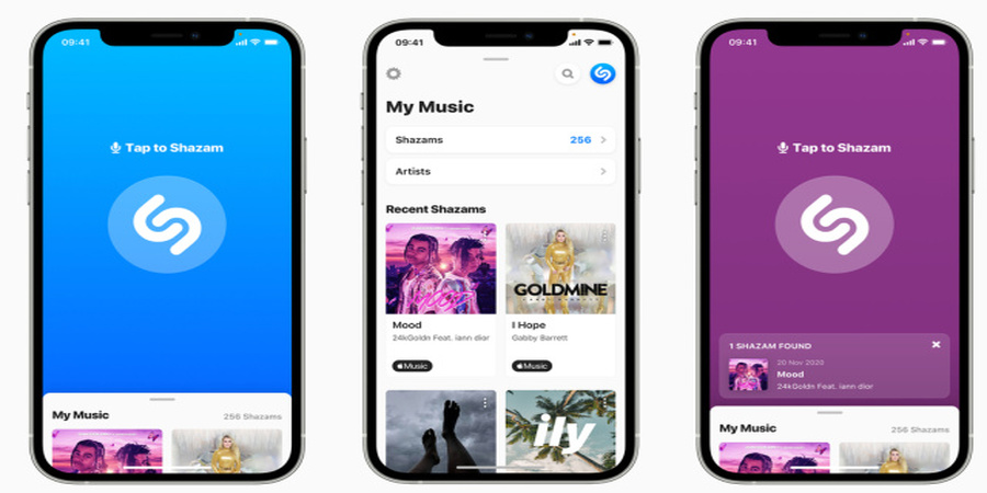 Shazam Adds Song Recognition to its Web Interface, Alongside a New iOS Design