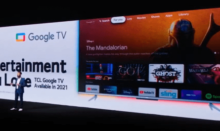 Electronics Manufacturer TCL will Offer a Google TV this Year