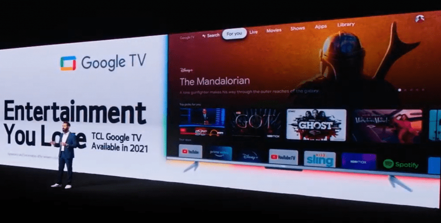 TCL Announces Plans for Manufacturing a Google TV to Sell this Year