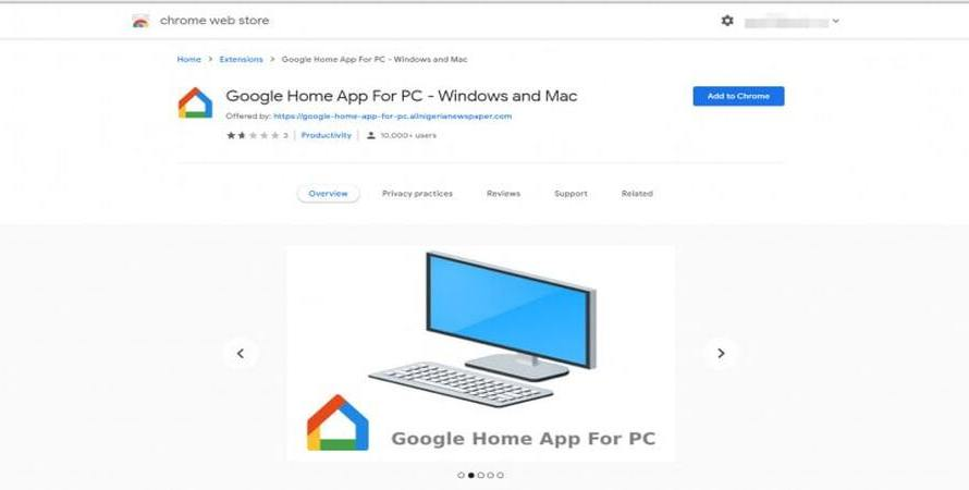 Uninstall this Phony 'Google Home for PC' Chrome Extension Immediately to Avoid Security Risks