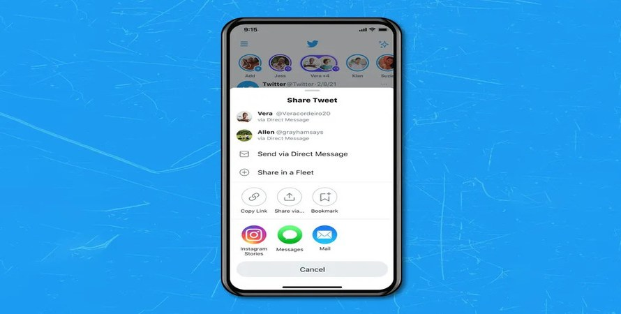 Twitter Users on iOS can Now Share their Tweets as Instagram Stories