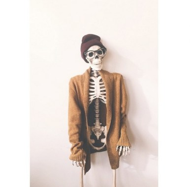 Instagram fashion skeleton
