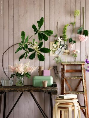 Interior inspiration flower