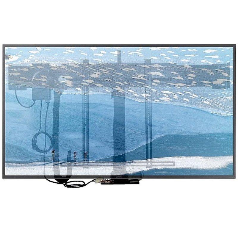 leve meuble tv reglable en hauteur electriquement jusqu a 80kg xantron premium k5