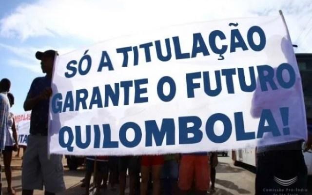 Titulação de Terras Quilombolas sem previsão