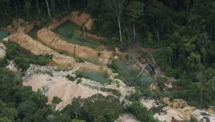 Mineração predatória