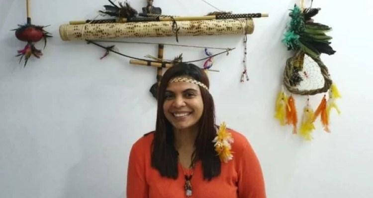 A médica Miriam de Moraes Viegas, uma das primeiras indígenas a se formar na profissão no país