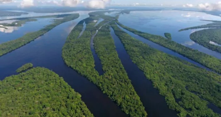 Os nomes do Rio Amazonas