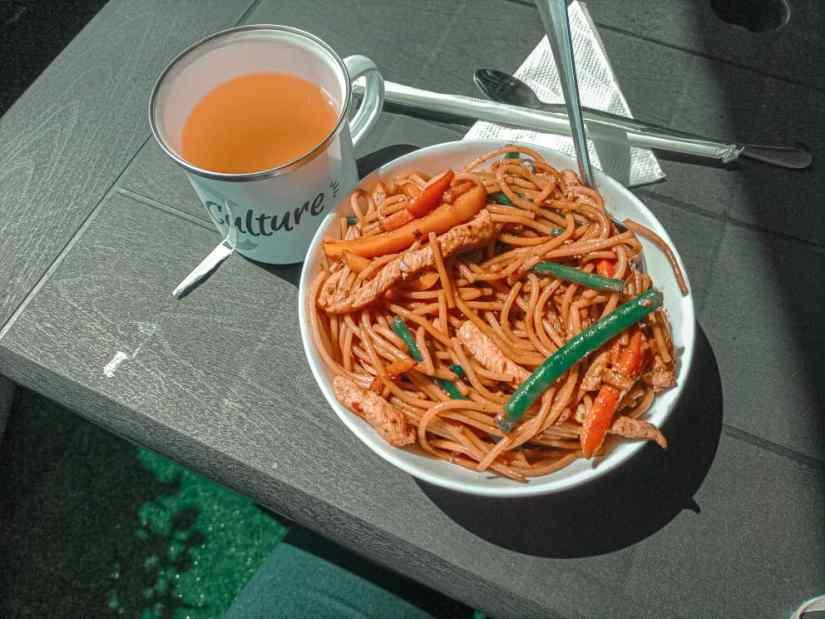 Stir Fry Noodles , Coffee Culture Blantyre