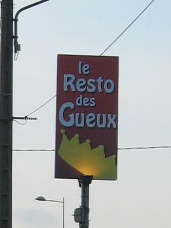 Le Resto DES GUEUX