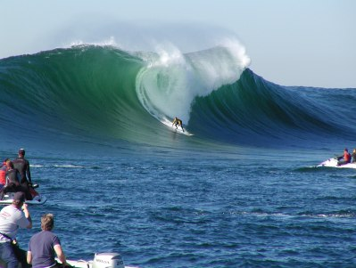 HARDCORE BIG WAVE SURFING