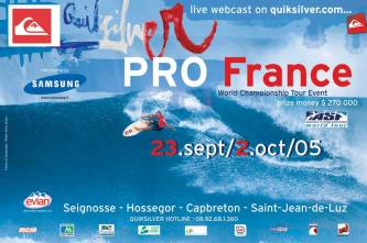 Quiksilver Pro France 2005 Poster