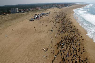 Photo Vue Sud aerien Hossegor