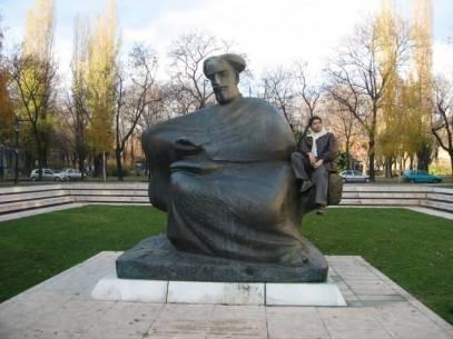 Zagreb Croatia Statue