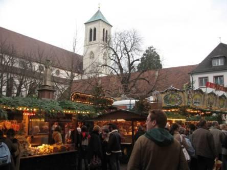 Christmas Market Freiburg Germany