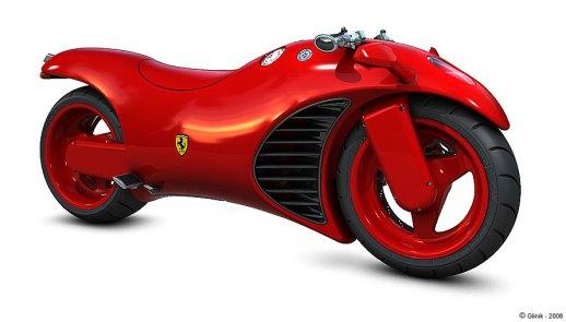 motorbike ferrari