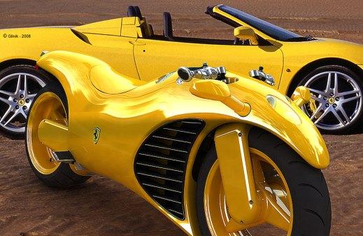 Ferrari Motorcycle Concept