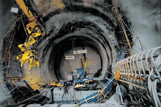 st gothard tunnel