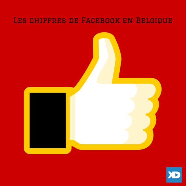Les chiffres de Facebook en Belgique (1)