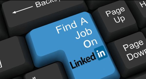 job search linkedin étude
