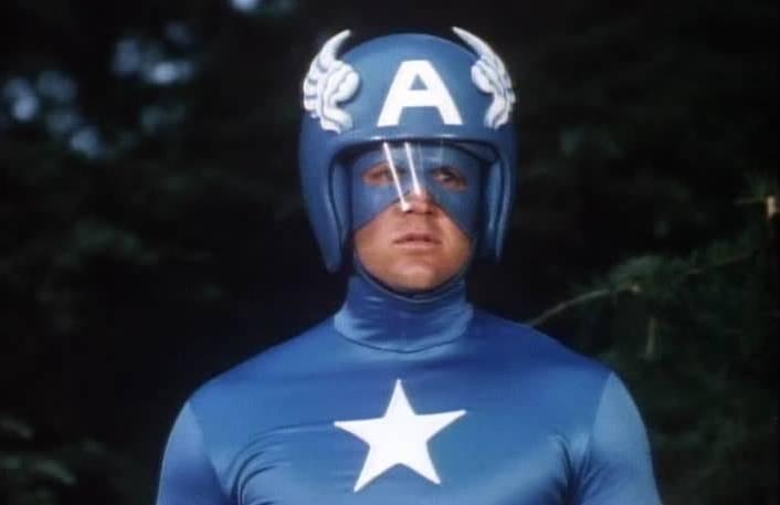 Et soudain... le fils de Captain America !