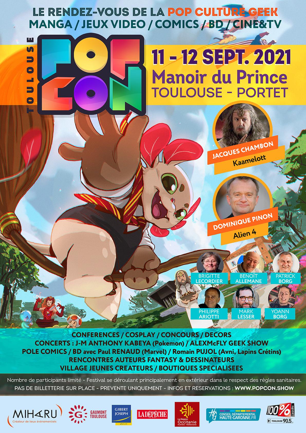 Le Règne des Super-Héroines à PopCon Toulouse !