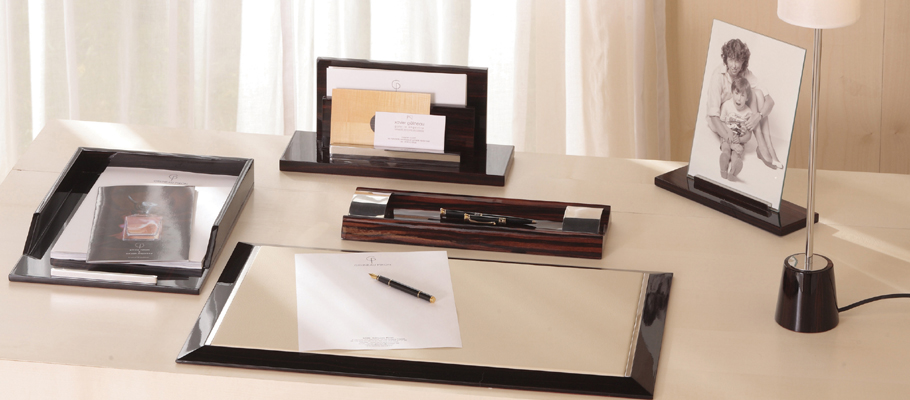 Sous Main Bureau Design Sousmain Desk Pad Marron X Cm
