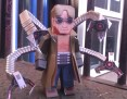 Papercraft imprimible del Doctor Octopus. Manualidades a Raudales.