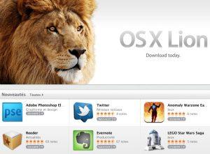 Mac OS X Lion introduit des fonctionnalités tactiles appréciables.