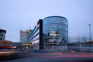 Le siège d'Orange à Renens. Photo: Orange/Thomas Jantscher.