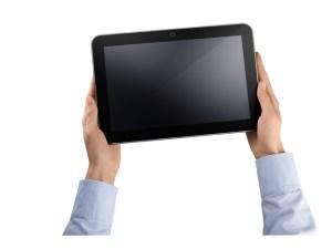 La tablette Toshiba AT 200 de Toshiba.