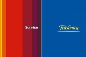 Sunrise et Telefonica collaborent en Suisse.