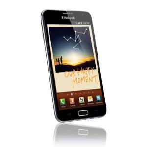 Le Samsung Galaxy Note est très richement pourvu.