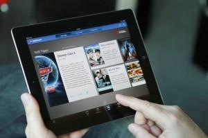 La nouvelle application pour iPad Swisscom TV Guide pour visionner rapidement ses contenus.